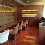 リンツ ショコラ カフェ - 2階のカフェ♪