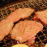 焼肉ふじ - 和牛上タン