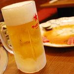焼肉ふじ - 生ビール