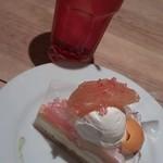 サンデーブランチ - 桃