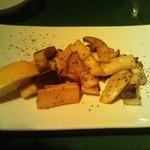 ハックベリー - エリンギ バター焼き
