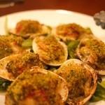 オステリア チ ヴェディアーモ - 地ハマグリの香草パン粉焼き