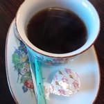 和伊んや - ランチドリンクのホットコーヒー¥100これ美味いです(H25.4.7撮影)