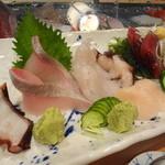 かまくら小花寿司 - お造り盛り合わせ
