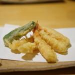 みわ - 小海老の天ぷら