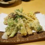 みわ - 山菜の天ぷら