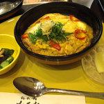 さんるーむ - 京野菜と湯葉の親子丼