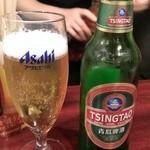 中国家庭料理 楊 - とりあえず、青島ビール!