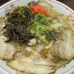 古賀サービスエリア(上り線)那の福屋台 - 大盛チャーシューワンタン麺