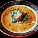 火焔山餃子房 - 濃厚担々麺(火焔山担々麺)\1,134/火焔山餃子房(厚木)