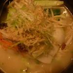 魚らん坂 - 野菜ラーメン