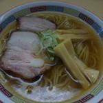 煮干鰮らーめん 圓 - 煮干ラーメン700圓!(玉子抜き・替わりメンマ増量)