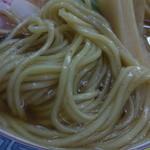 煮干鰮らーめん 圓 - 自家製麺がなかなかイケる!