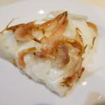ウィルビウス - 料理写真:桜海老と新玉葱のタルトフランベ