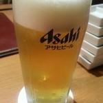 18803392 - 生ビールは美味いんだが、健康ランド価格(笑)