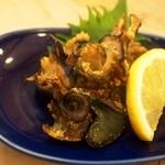 亀すし - 鮑の肝焼き