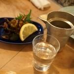 亀すし - 燗酒は錫タンポ