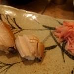 亀すし - お寿司のスタートは鮑から
