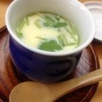 和光鮨 - ランチサービスの茶碗蒸し