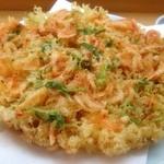 和光鮨 - 由比産生桜海老掻き揚げ  旬の桜海老の香りがたまらない