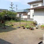 道久製麺所 - 裏庭