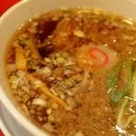 カドヤ食堂 - つけそば スープ