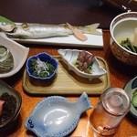 峰 - 料理写真:夕食