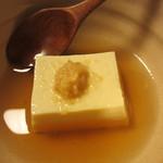京料理 八平 - 玉子豆腐