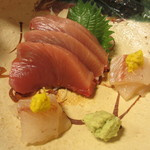 京料理 八平 - お造り しび、やがら