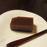京料理 八平 - 水羊羹