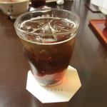 京料理 八平 - 梅酒のソーダ割り