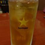 香酒縁 - ウーロンハイ:210円