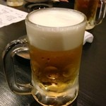 龍馬 - 生ビール:2時間飲み放題付き『龍馬』コース内(5500円)