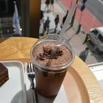 リンツ ショコラ カフェ - アイスチョコドリンク ダーク