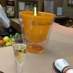 天ぷら 京星 - スパークリングワイン
