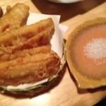 かちがらす - 料理写真:トウモロコシの天ぷら