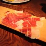 目白スペインバル - ハモンイベリコ (イベリコ豚の生ハム)