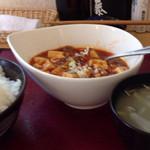 謝々 - 麻婆豆腐ランチ