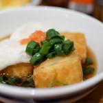 里芋 - 揚げ出し豆腐