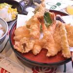 天ぷら ひさご - 初夏の味覚定食~穴子・蛸など~