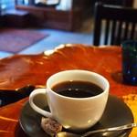 オトノコーヒー - ドリンク写真:マンデリン馬面(ウマヅラ)