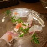 ウーノ・ウーノ - 鮮魚のカルパッチョ