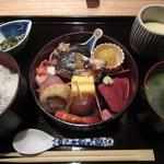 """Akasakaajisai - """"小箱弁当""""セット¥1,050"""