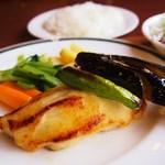 Homer - 料理写真:鮮魚(銀ダラ)の味噌グリル