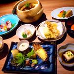 きろく - 日本料理で腕を磨いた店主が創る季節感のあるコース料理をどうぞ。