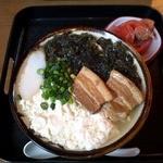 ゆくい処くぇぶぅ - 本日のおすすめメニュー、アーサゆし豆腐そば