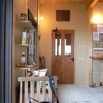 パン工房ゴーシュ+CAFE - 入り口