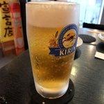 たんたか - プロの入れた生ビールは最高っす!
