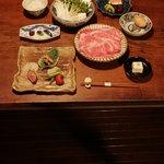 丹波谷 かくりゅう - すき焼きコース