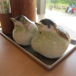 リトルバード - 2013/4 調味料も小鳥の陶器に かわいい!